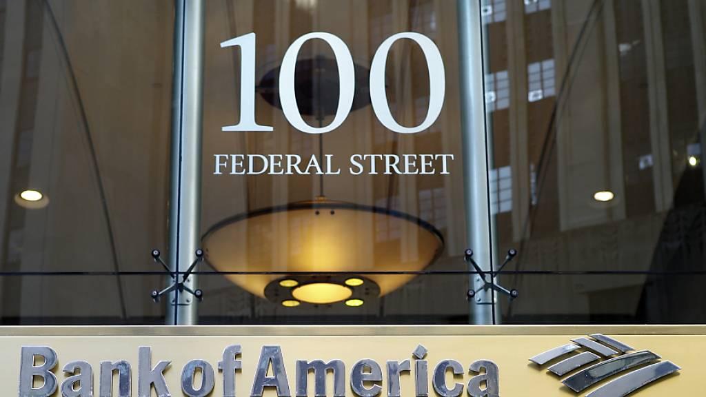 Gewinn von Bank of America bricht um ein Drittel ein