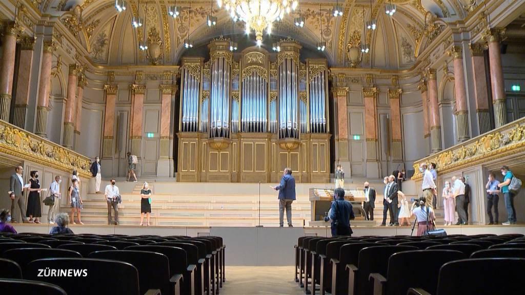 Tonhalle Zürich: Das neue Prunkstück steht endlich