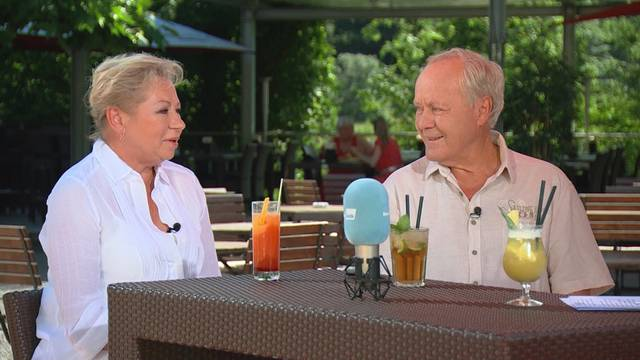 Sehen Sie hier den ganzen «Sommertalk» mit Köbi Kuhn und Jadwiga Cervoni