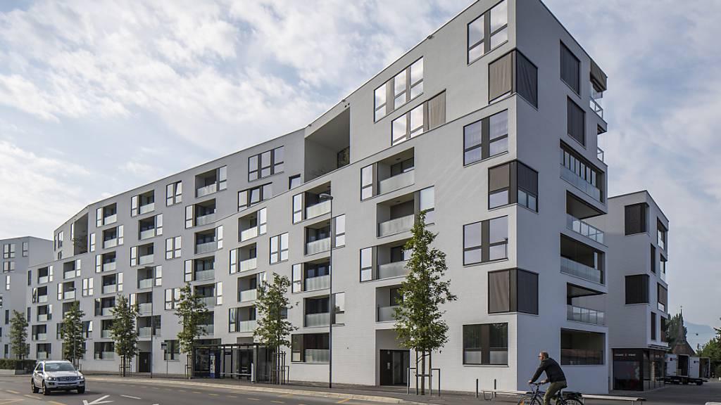 Im Kanton Zug gibt es immer mehr kleine Wohnungen
