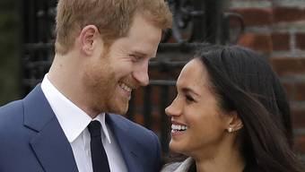 Prinz Harry und seine Verlobte Meghan Markle wollen ihre Hochzeit am 19. Mai 2018 auch auf den Strassen feiern. (Archiv)