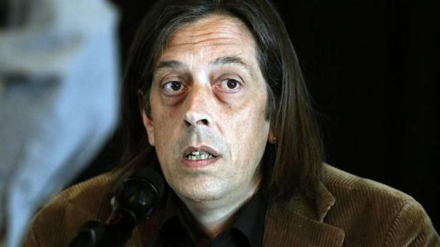 """Autor Pedro Lenz schrieb den Roman """"Der Goalie bin ig"""" (Archiv)"""