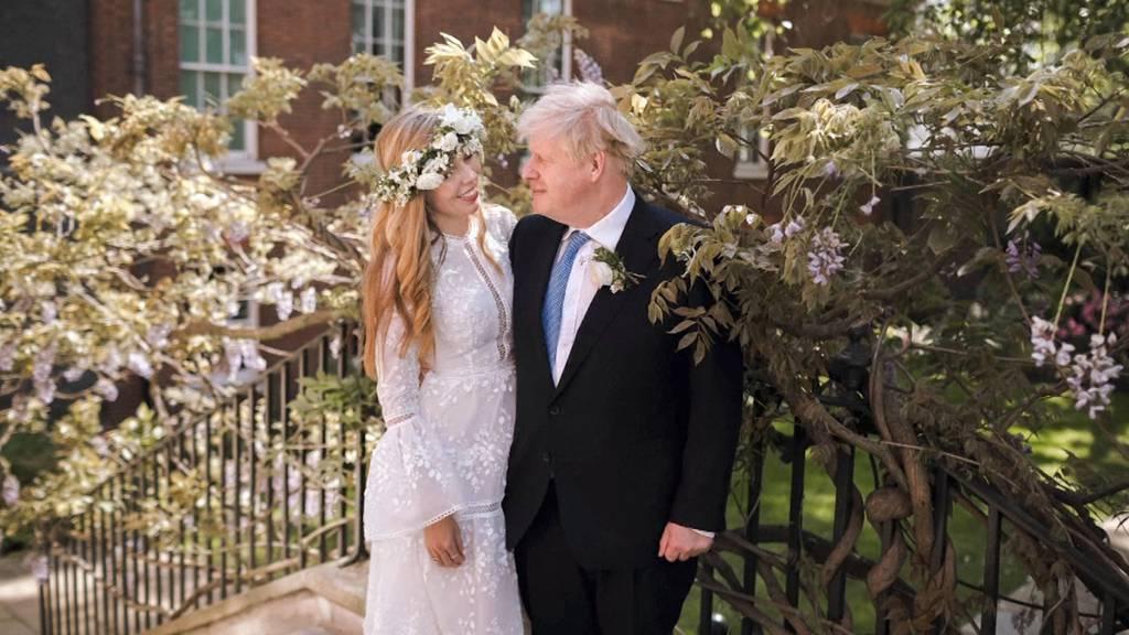 Hochzeitsfoto veröffentlicht: Boris Johnson hat geheiratet