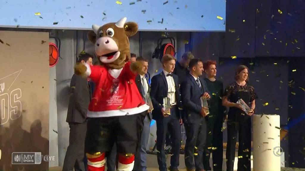 Berner Highlights an den Swiss Ice Hockey Awards
