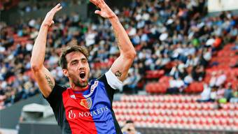 Der Rückkehrer Emilio Delgado erlebt beim FC Basel seinen dritten Frühling. kEYSTONE