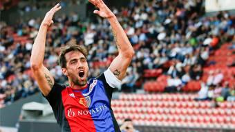 Matias Delgado tref gegen Sion doppelt.
