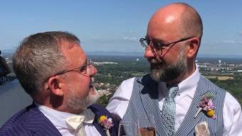 Der ehemalige Landratspräsident Philipp Schoch hat in Deutschland geheiratet.