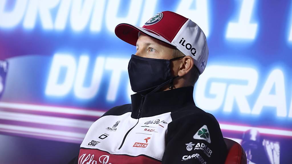 Muss sich weiterhin zuhause isolieren: Kimi Räikkönen
