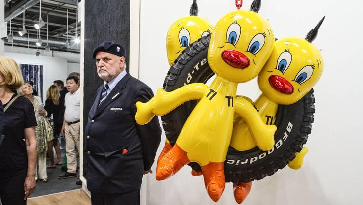 Impressionen der Art Basel: In der Kunststadt gibt es zwar viele Galerien, Mitglieder bei deren Promo-Verein wurden aber rar.