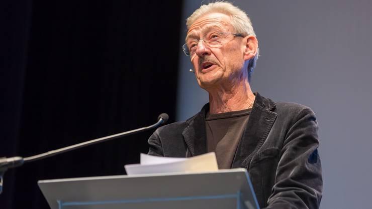 Christian Haller berührte das Publikum mit seinem persönlichen und tiefgründigen Referat zur Kunst des Alterns.