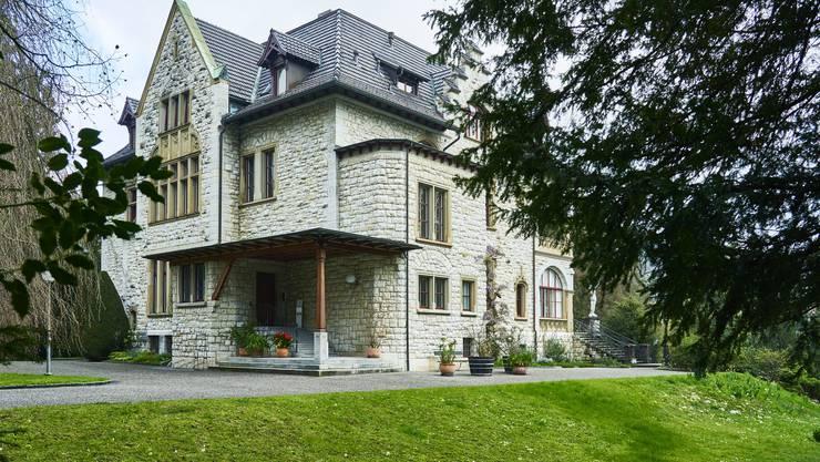 Grossbürgerliches Wohnen im Grünen: Die Villa Boveri.
