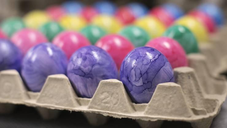 181 Eier hat jeder Schweizer, jede Schweizerin im Durchschnitt gegessen.