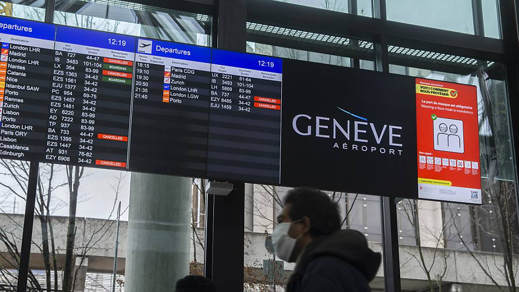 Testpflicht für Flugeinreisende und verkürzte Quarantäne ab Montag