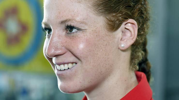Hat nach der Egalisierung ihrer besten Klassierung in der WM-Serie als Fünfte gut lachen: die Urner Triathletin Jolanda Annen