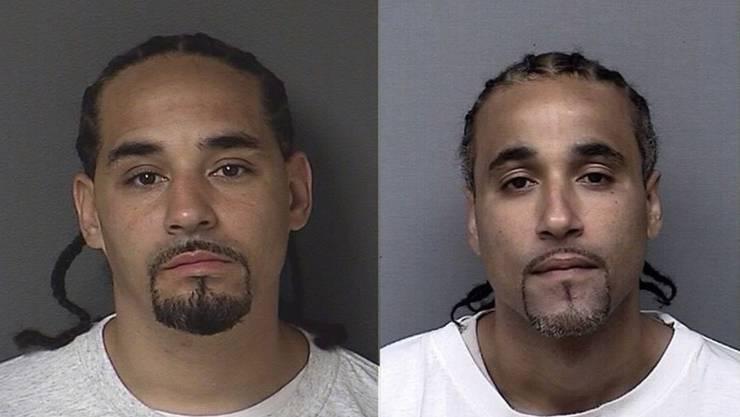 Richard Anthony Jones (rechts) und sein Doppelgänger Ricky sehen sich zum Verwechseln ähnlich – auch nach 17 Jahren.