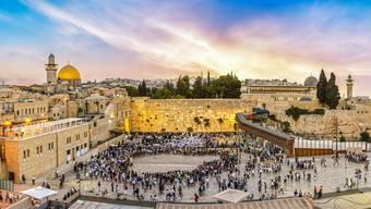 Wo drei Weltreligionen wurzeln Der Tempelberg in Jerusalem ist für Christen, für Muslime und für Juden eine heilige Stätte.