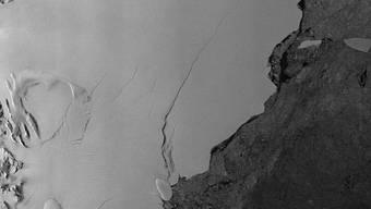 Larsen-C Schelfeis in der Antarktis