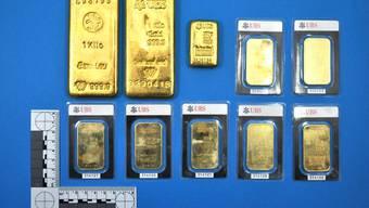 Dieses Gold haben die beiden Gemeindearbeiter in Klingnau gefunden.