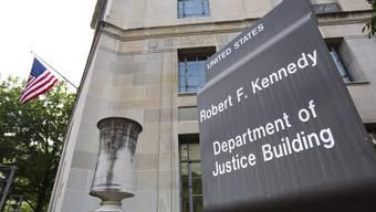 In Washington DC traf sich Staatssekretär Jacques de Watteville mit hochrangigen Vertretern des Justizdepartements. key