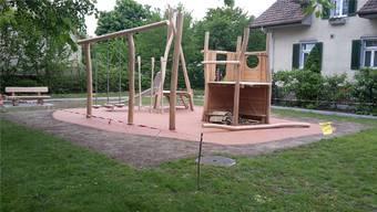 So sieht der neue Spielplatz in Merenschwand aus. zvg