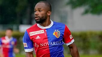 Durfte in seinem ersten Spiel im Dress des FC Basel auf der Zehn ran: Aldo Kalulu.