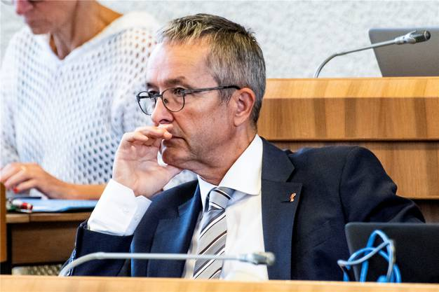Wehrte sich im Landrat energisch für «sein» Projekt: Der Baselbieter Gesundheitsdirektor Thomas Weber (SVP).