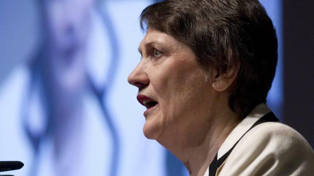 Möchte die erste Frau an der Spitze der UNO werden: Neuseelands Ex-Regierungschefin Helen Clark. (Archivbild)