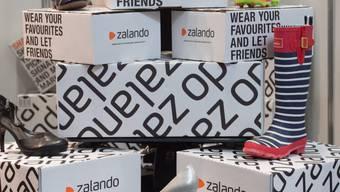 Der deutsche Mode-Onlinehändler Zalando wächst weiterhin kräftig. (Archiv)
