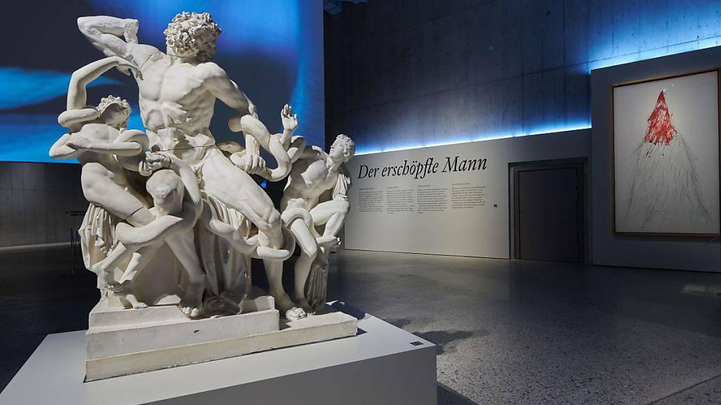Catwalk der Männlichkeitsideale im Landesmuseum Zürich