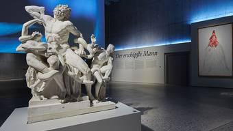 """Der Todeskampf des Laokoon eröffnet die Ausstellung im Landesmuseum Zürich über """"erschöpfte Männer""""."""