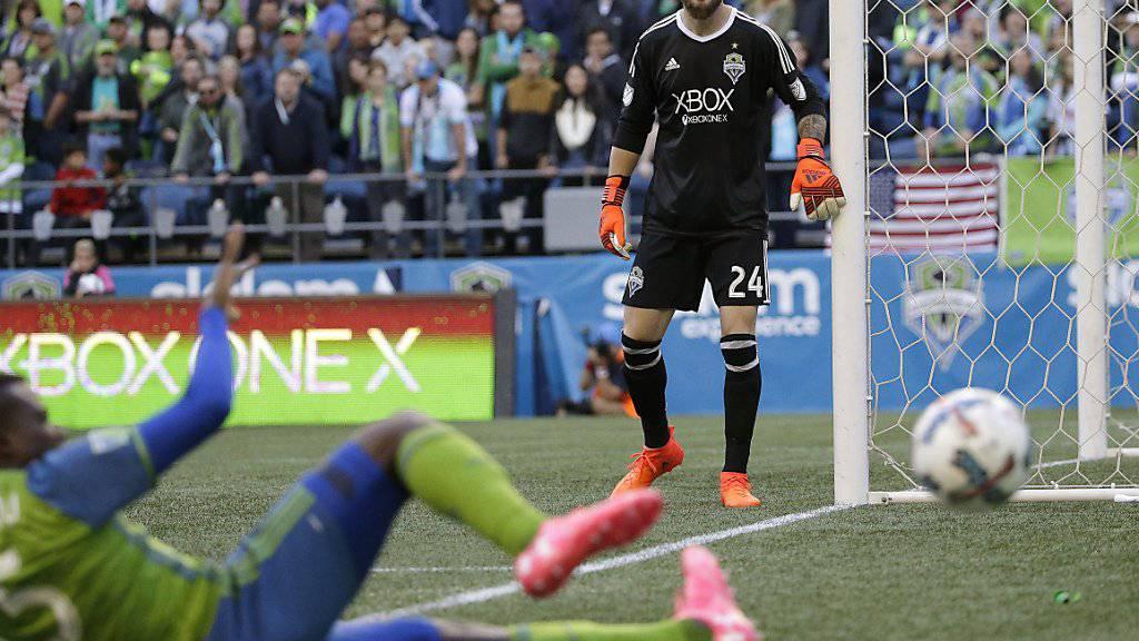 Der Schweizer Keeper Stefan Frei qualifiziert sich mit den Seattle Sounders direkt für die Conference-Halbfinals