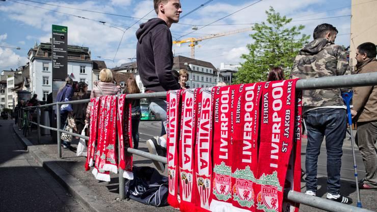 Alles fiebert dem Europa-League-Final zwischen Liverpool und Sevilla entgegen.