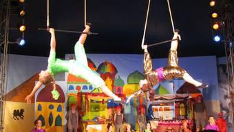 Arabas-Artisten haben den Sesam geöffnet