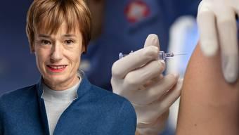 Ruth Humbel, CVP-Nationalrätin und Präsidentin der nationalen Gesundheitskommission, ist gegen eine Impfpflicht für das Gesundheitspersonal.
