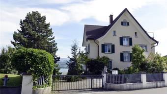 Udo Jürgens' frisch sanierte Villa direkt am Zürichsee.