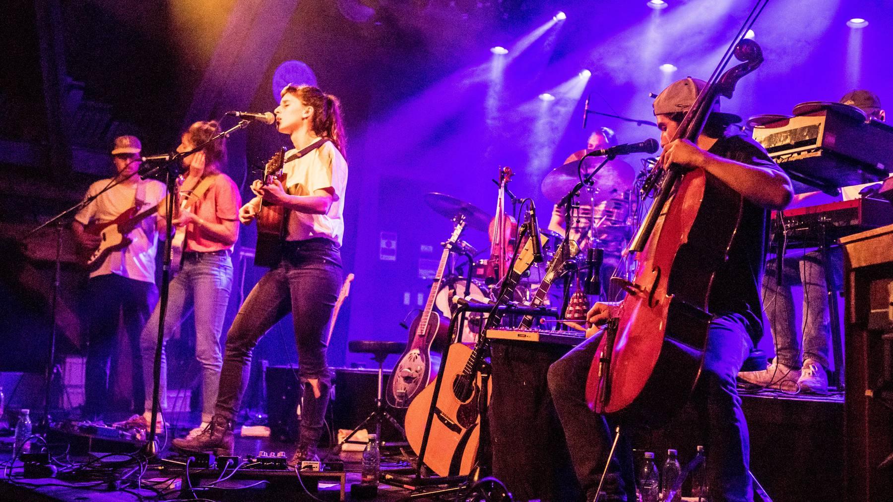 Die Zürcher Band Black Sea Dahu bei einem Konzert in Luzern.