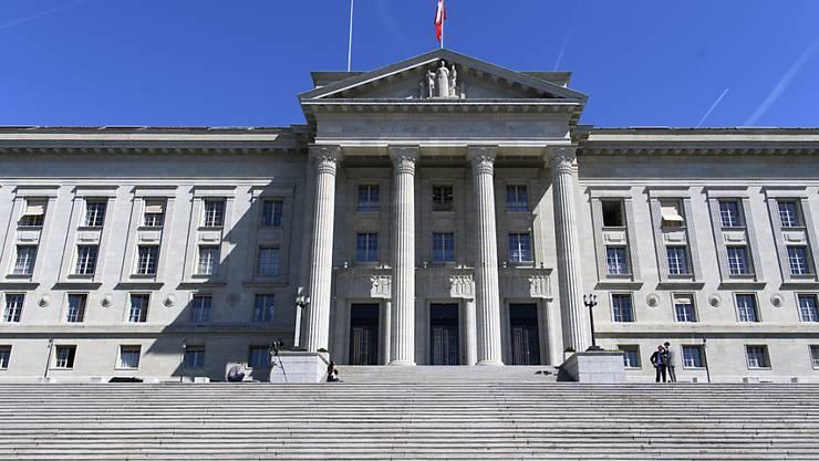 Der Streit um die Selbstbestimmungsinitiative der SVP ist auch ein Streit um Bundesgerichtsurteile. Es geht um die Frage, ob und inwiefern das Gericht die Rechtsprechung in den vergangenen Jahren geändert hat. (Archivbild)