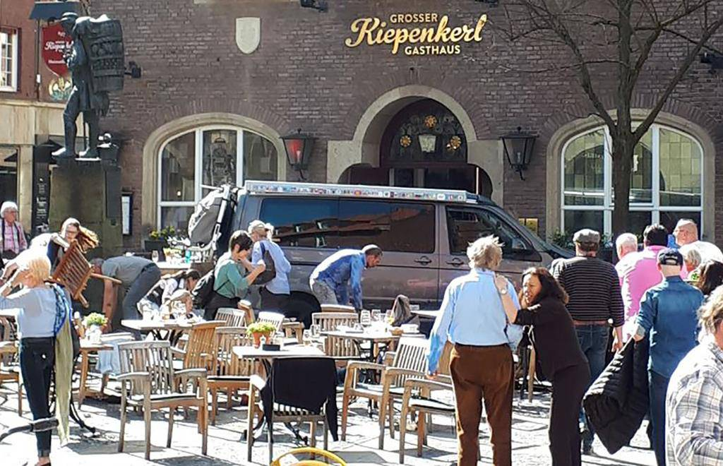 Zwischenfall in Münster