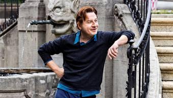 Beat Schlatter kommt für seinen neuen Film nach Lenzburg.