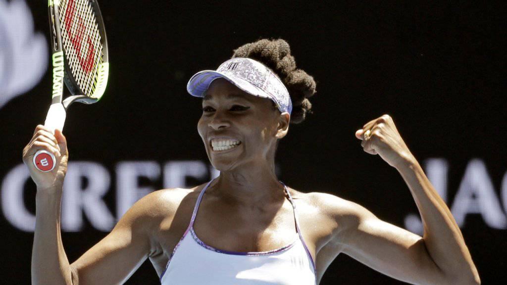 Golden Oldie: Mit 36 Jahren steht Venus Williams am Australian Open wieder im Halbfinal