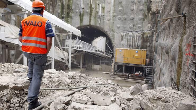 Durchmesserlinie: Die im Bau befindliche neue Verbindung zwischen Zürich Oerlikon und Zürich Altstetten ist Voraussetzung für den geplanten S-Bahn-Ausbau. (Moritz Hager/EQ Images)