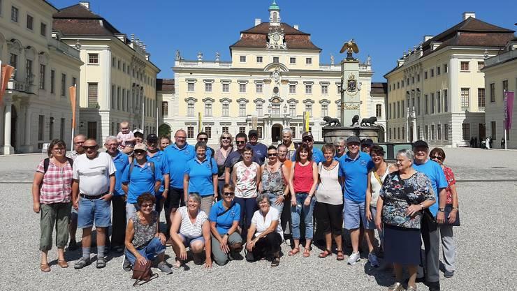 Der Kleintierzüchterverein aus Derendingen zu Besuch in Ludwigsburg Deutschland.
