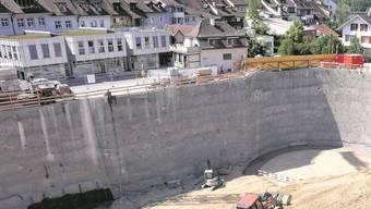 Der neue Manor-Bau ist ein wichtiges Element der Liestaler Stadtentwicklung.  Archiv/Nicole Nars-Zimmer.