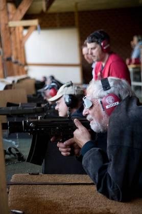 Am Feldschiessen können sich die Schützen aus der Region messen