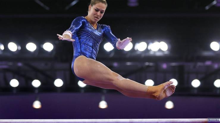 «Ich will nicht mehr zurückblicken, sondern positiv und optimistisch nach vorne», sagt Giulia Steingruber vor der WM.