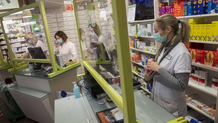 Die Abgabe gewisser Medikamente ist ab sofort auf eine Packung pro Einkauf begrenzt. (Symbolbild)