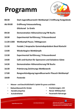 Programm 31.08.2013