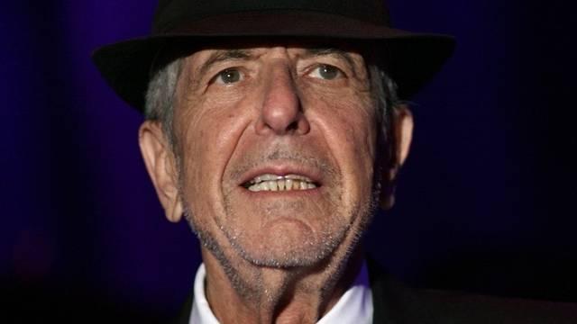 Der kanadische Sänger Leonard Cohen