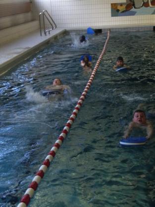 Das Streckenschwimmen