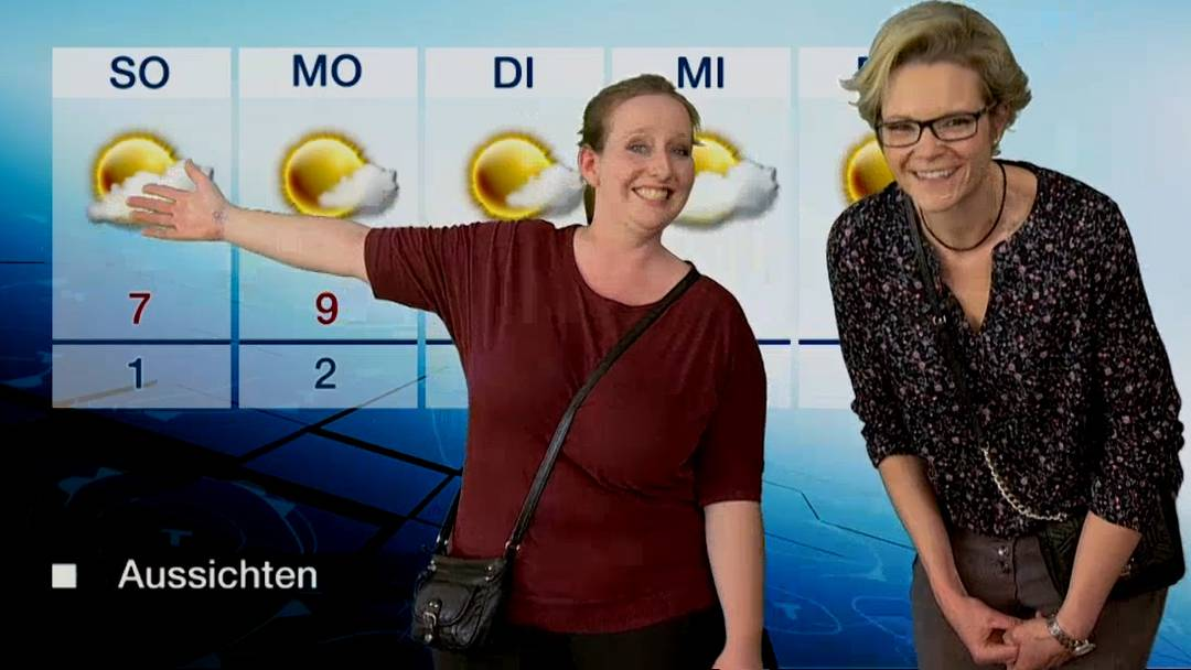 Rückblick: Die besten AMA-Wettermoderationen.